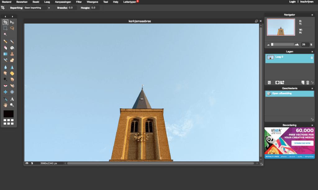 Pixlr editor voor en nadelen gratis ontwerpprogramma's