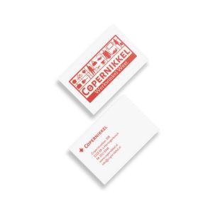 ontwerp Logo en visitekaartje voor werkwinkel Copernikkel in Den Bosch