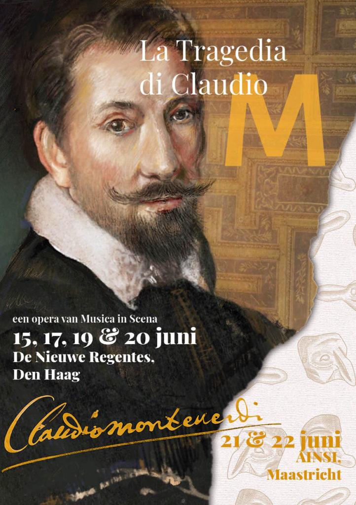 ontwerp poster flyer opera monteverdi