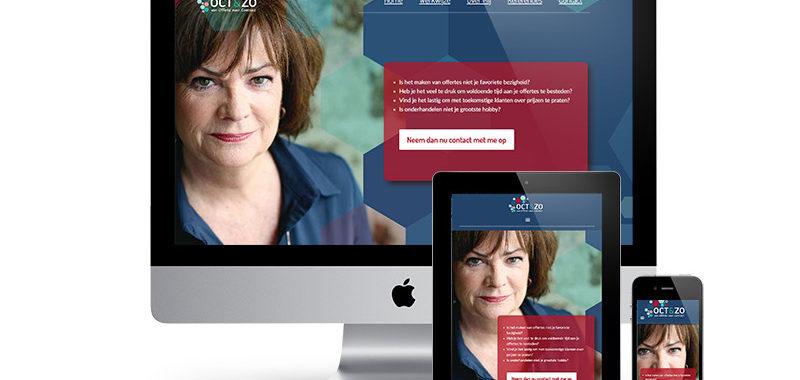 oct&zo website ontwerp wordpress onepager